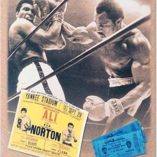 Muhammad Ali Licensed 12x14 Photo with Ken Norton