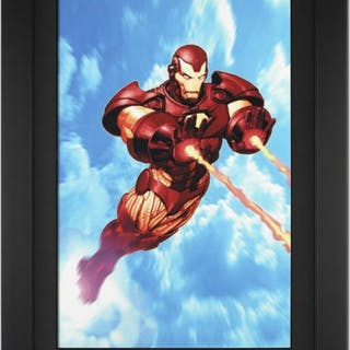 "Stan Lee Signed ""Iron Man: Iron Protocols #1"" Extremely Limited Edition"