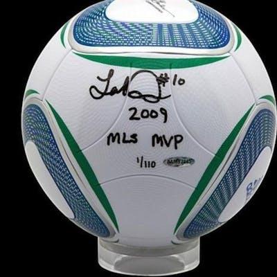 "Landon Donovan Signed MLS Match Soccer Ball Inscribed ""2009 MLS MVP"" (UDA COA)"