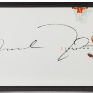 36008fc5bd2 Michael Jordan Signed Bulls