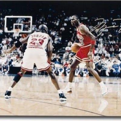 "Michael Jordan Signed Chicago Bulls ""Driven"" Limited Edition 16x24"
