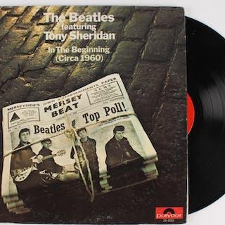 "Paul McCartney Signed The Beatles ""In The Beginning"" Record Album (PSA LOA)"