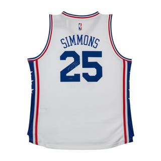 f30008474 Ben Simmons Signed 76ers Authentic Jersey (UDA COA)