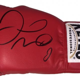 Floyd Mayweather Jr  Signed Cleto Reyes Boxing Glove
