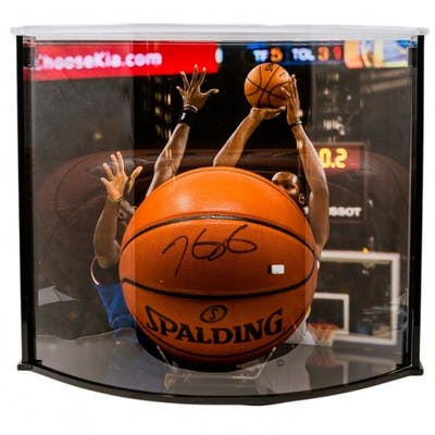 Kevin Durant Signed Official Game Ball Series Basketball with Curve