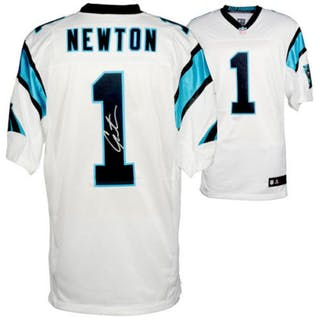 finest selection 6147d e6e06 Cam Newton Signed Carolina Panthers Jersey (Fanatics ...