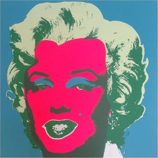 "Andy Warhol ""Marilyn 11.30"" 36x36 Silk Screen Print from Sunday B Morning"