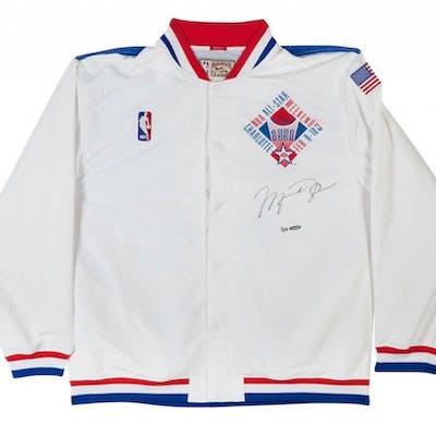 Michael Jordan Signed Limited Edition 1991 NBA All-Star Warm-Up Jacket