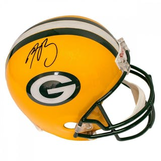 0267b262d94 Aaron Rodgers Signed Packers Full-Size Helmet (Steiner COA) – Current sales  – Barnebys.com
