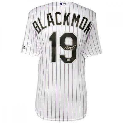 Charlie Blackmon Signed Rockies Jersey (MLB & Fanatics)