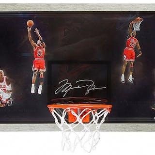 brand new 1395d 58c25 Michael Jordan Signed LE Bulls