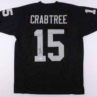 Michael Crabtree Signed Raiders Jersey Jsa Coa Cur S Barnebys