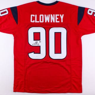 Jadeveon Clowney Signed Jersey (JSA COA)