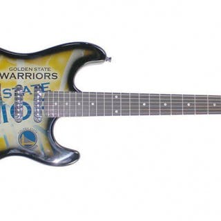 Stephen Curry Signed Northender Golden State Warriors Electric Guitar