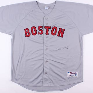 Johnny Damon Signed Red Sox Jersey (JSA COA)