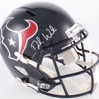 88afcf485 Deshaun Watson Signed Texans Full-Size Helmet (JSA COA   Watson Hologram) –  Current sales – Barnebys.com