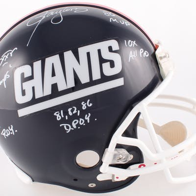 Lawrence Taylor Signed Giants Full-Size Authentic On-Field Helmet