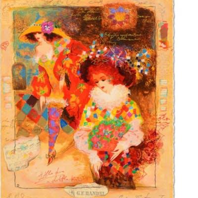 Alexander Galtchansky & Tanya Wissotzky Signed Limited Edition 13x16 Serigraph
