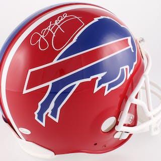adea4a81a60 Jim Kelly Signed Bills Full-Size Authentic On-Field Helmet (JSA COA)