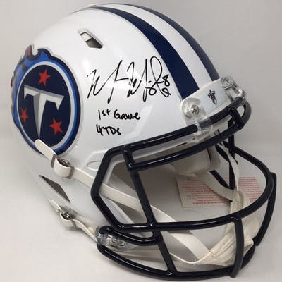 Marcus Mariota Signed Titans LE Full-Size Authentic On-Field Speed