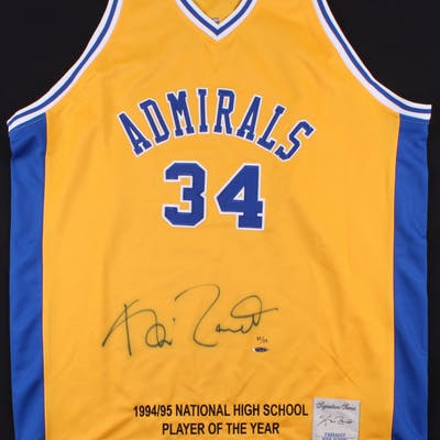 size 40 42507 d3c70 Kevin Garnett Signed Farragut Career Academy Career ...