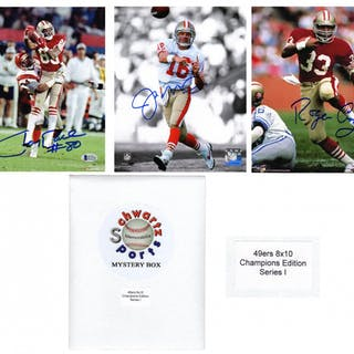 764e1b1bd San Francisco 49ers Signed Mystery 8x10 Photo – World Champions Edition