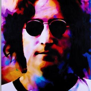 """John Lennon Dance of Emotion"" 22x32 Contemporary Beatles Pop Art"