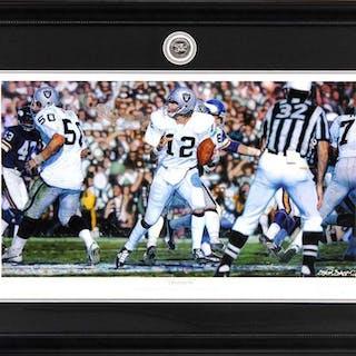 """Steve Skipper Collection """"Undeniable"""" 16x19 Custom Framed Ken Stabler"""