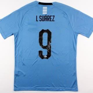 Luis Suarez Signed Uruguay Puma Jersey (Beckett COA) – Current sales –  Barnebys.com bd61aa87c