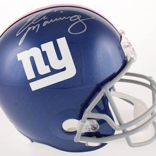 Eli Manning Signed Giants Full-Size Helmet (Steiner COA) – Current sales –  Barnebys.com ae755ea9f