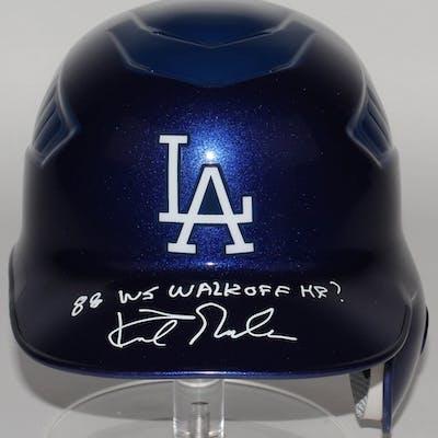 Kirk Gibson Signed Dodgers Authentic MLB Full-Size Batting Helmet