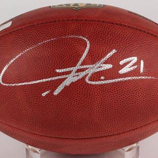 958646ad7c43 LaDainian Tomlinson Signed Official NFL Game Ball (Radtke COA   Tomlinson