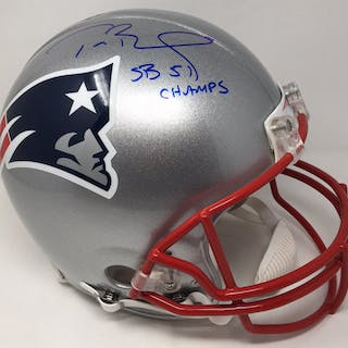 Tom Brady Signed Patriots Full-Size Authentic On-Field Limited Edition