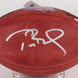 Tom Brady Signed Super Bowl XXXVI NFL Official Game Ball (TriStar Hologram)  – Current sales – Barnebys.com 6e59692d5