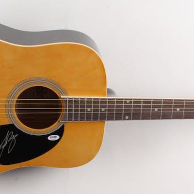 Luke Bryan Signed Full-Size Rogue Acoustic Guitar (PSA COA)