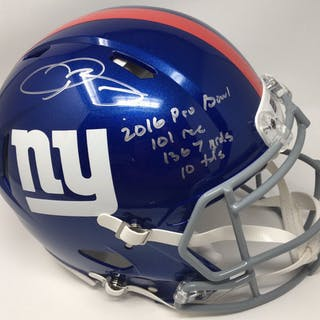 Odell Beckham Jr. Signed Giants Limited Edition Full-Size Authentic