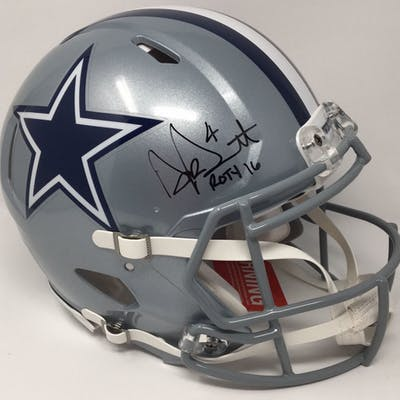 Dak Prescott Signed Cowboys Limited Edition Full-Size Authentic On-Field