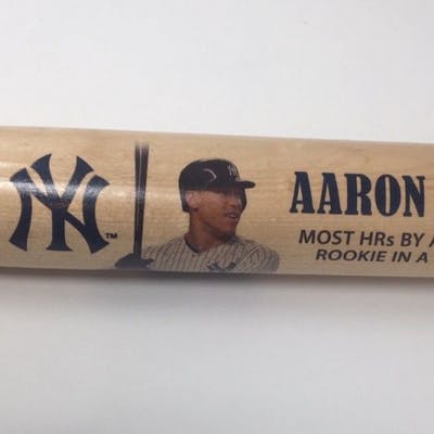Aaron Judge Signed Yankees Limited Edition Commemorative Home Runs