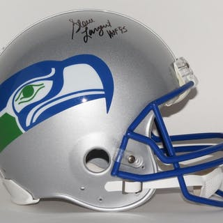 Steve Largent Signed Limited Edition Seahawks Throwback Full-Size