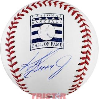 Ken Griffey Jr. Signed Hall Of Fame Logo Baseball (TriStar Hologram)