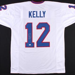 0020c910701 Jim Kelly Signed Bills Jersey (JSA COA) – Current sales – Barnebys.com