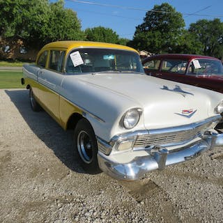 1956 Chevrolet Custom 2dr Post