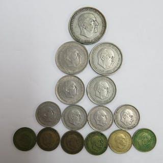 Spanish coins, 15 coins