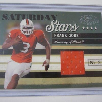buy popular 36976 8b239 2007 DONRUSS CLASSICS SATURDAY STARS #23 FRANK GORE ...