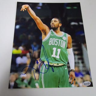 a5797aec986 ... Kyrie Irving Boston Celtics signed autographed 8x10 photo Certified COA  606. Closed auction