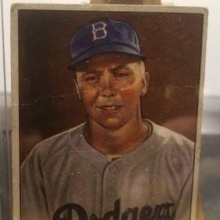 Harold Reese 1950 Bowman Baseball Card Fair Condition Current