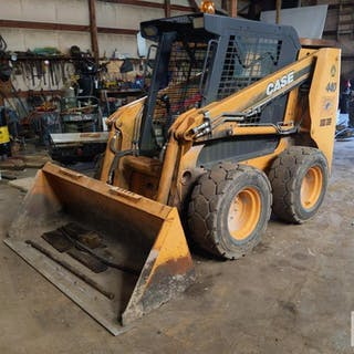 Case 440 Skid Steer w/ wet lines 1,521 hrs – Current sales