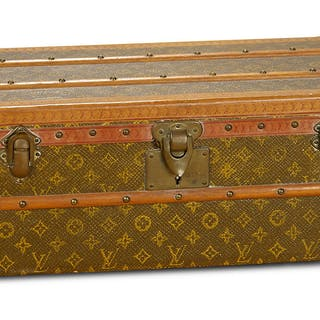 f3d867d2b51f 19th Century French Trunk by Louis Vuitton for Poupee 1200 1800