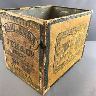 Vintage Asian crate