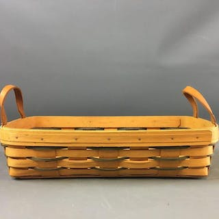 Signed and Dated Longaberger Bread Basket